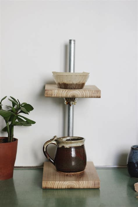 diy pour  coffee stand