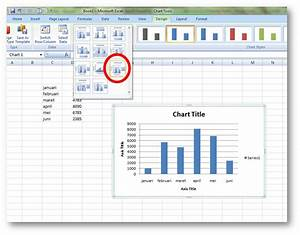 Cara Membuat Grafik Lengkap Di Ms  Excel