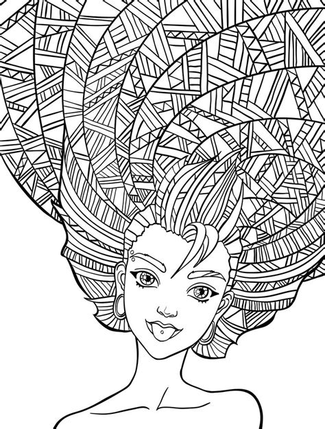 colouring pages people images  pinterest