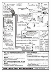 Auto Wiring Diagrams   Inspirating Of Autowatch 279 Rl