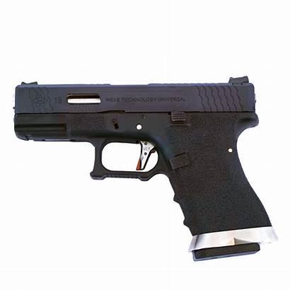 Glock Silver Slide Barrel Force Pistol Gbb