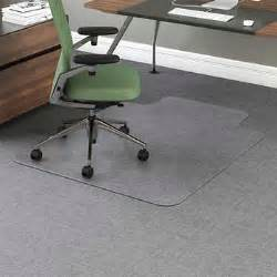 office impressions chair mat for carpet 53 quot x 45 quot w lip