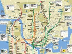 Manhattan Subway Map Bronx