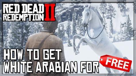 arabian horse rdr2 dead redemption