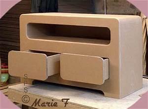 Meuble En Carton Design : meuble carton design ~ Melissatoandfro.com Idées de Décoration