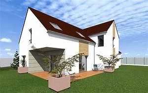 Projet Maison En 3d  Conseil Construction Maison  Essonne 91