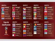 Mundial 2018 Dos jornadas de clasificación para