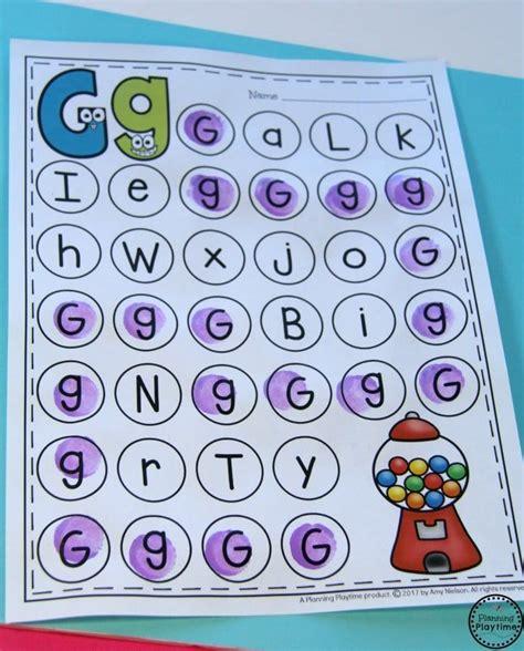 Printable Worksheets » Letter Recognition Worksheets Kindergarten  Printable Worksheets Guide