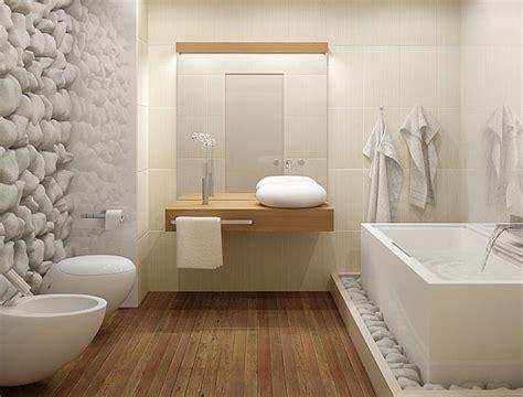 20 banheiros decorados com revestimento que imita madeira