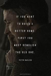 If you want to build a better home, first you must ...
