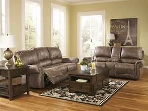 1001 conseils et idees pour amenager un salon rustique With tapis jaune avec canapé cuir et bois