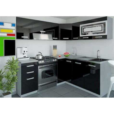 ensemble bureau pas cher justhome lidja l cuisine équipée complète 190x170 cm