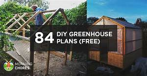 125 DIY Greenhouse Plans You Can Build This Weekend (Free)