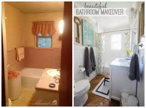 Basement Pump Up Toilet by Beautiful Cottage Style Bathroom Makeover