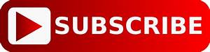 Subscribe Youtube Large Button transparent PNG - StickPNG