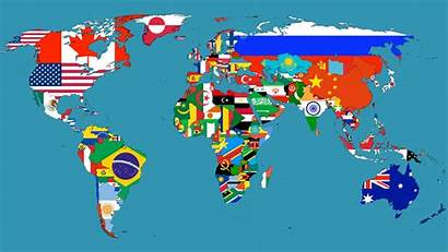 Countries Maps Map Country Flag Flags Each