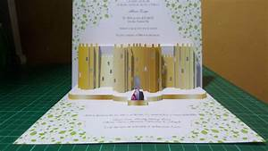 Pink Invitation Wedding Pop Up Invitations Pop Up Occasions