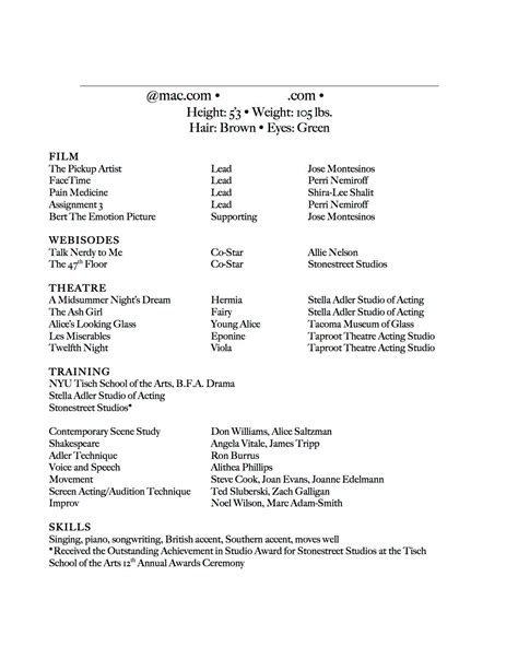 How To Make An Acting Resume With No Experience  Acting Plan. Resume And Cv Samples. Action Words On Resume. Speech Therapy Resume. What Should I Include On My Resume. Sample Resume For Highschool Students. Attractive Resume Format For Experienced. Business Systems Analyst Sample Resume. How Long Should A Professional Resume Be