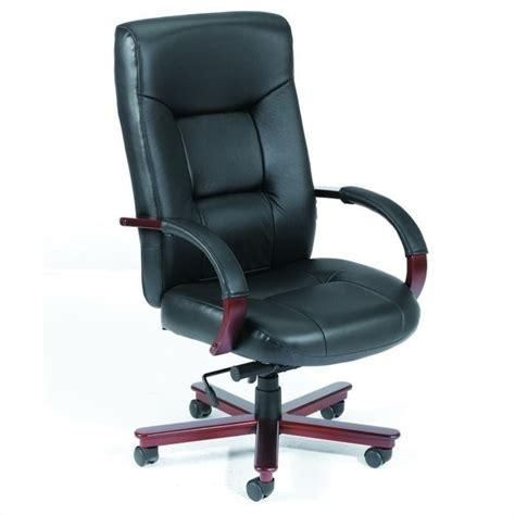 ergonomic high back executive leather office chair with