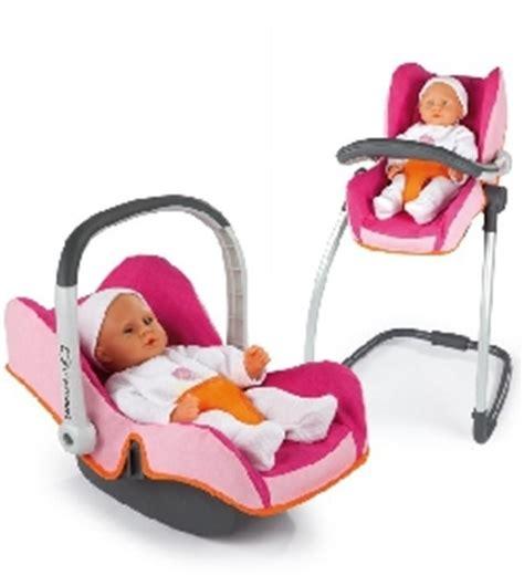 siege auto pour poupon chaise haute balancelle si 232 ge auto 3 en 1 jouet et cie