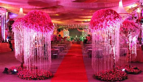 indian wedding decor pink lotus events