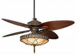 Three light bronze ceiling fan tropical fans