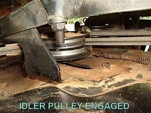 Belt  U0026 Pulley Problem For Craftsman Lt1000