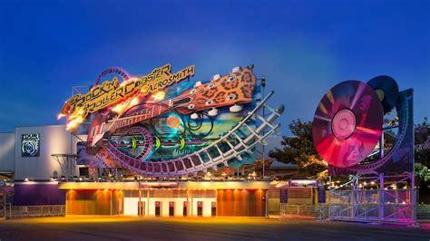 Rock N Roll Images Rock N Roller Coaster Avec Aerosmith Attraction Et Parc Disneyland Paris