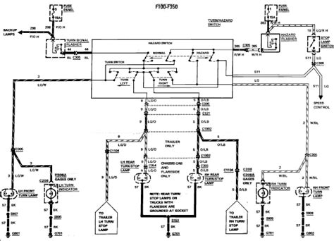 2006 Ford F 250 Backup Light Wiring Diagram by I A F250 With Failing Brake Lights I Turn