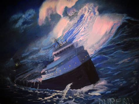 Where Exactly Did The Edmund Fitzgerald Sank by The Edmund Fitzgerald By Dureall On Deviantart