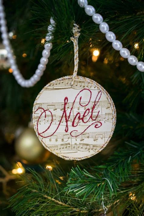 handmade ornament exchange share  craft christmas