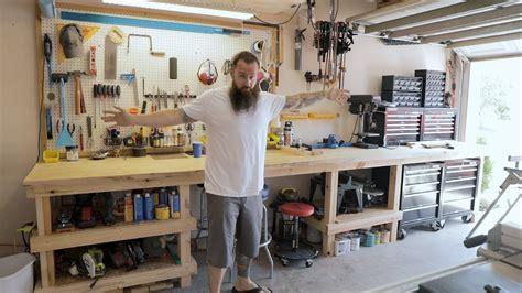 Functional Workspace   Garage Overhaul Part 2   YouTube