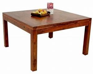 Table Carrée Rallonge : table carr e palissandre rallonges mobilier ~ Teatrodelosmanantiales.com Idées de Décoration