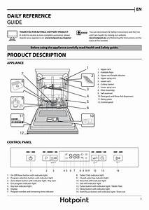Hotpoint Hfc3c26wsv Full Size Dishwasher Instruction