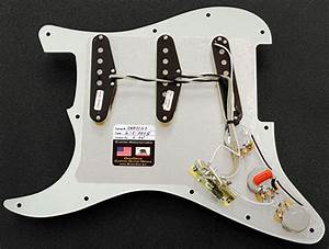 Loaded Strat Pickguard Seymour Duncan Ssl Rp