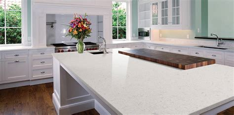 glacier white quartz countertops  premium natural quartz