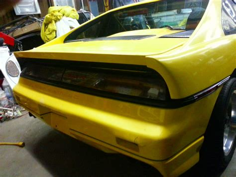 fiero tail light panel anyone ever try custom fastback tail lights like the ppg