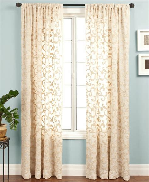 Macys Curtains And Window Treatments by Softline Belinda 55 Quot X 95 Quot Panel