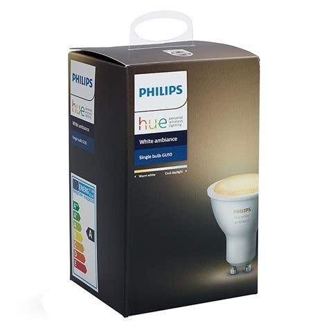 philips hue leuchtmittel philips hue led leuchtmittel 5 5 w gu10 einstellbare farbtemperatur 1 stk 3502 null