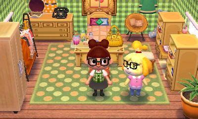 animal crossing happy home designer isabelle home