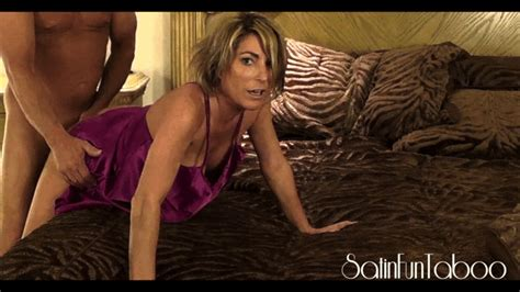 SATINFUN TABOO Do You Like Mommy In Pink Cfnm Satin Fetish Taboo Role Play Lingerie Mom Son