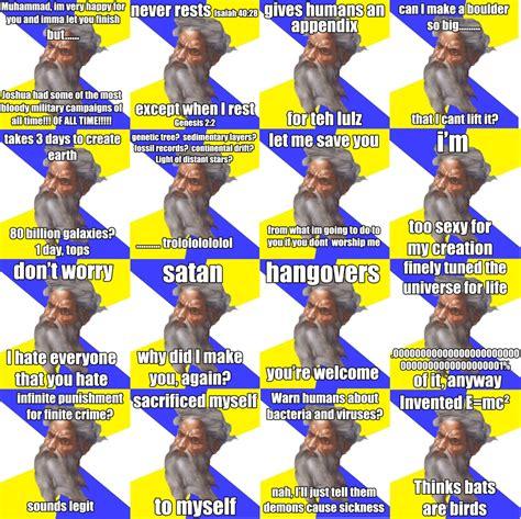 Memes About God - image 169890 advice god know your meme