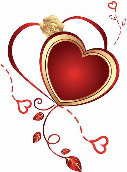 Heart Rose Clipart Hearts Clip Transparent Yopriceville