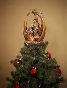 holy family with star unique tree topper summit arbor holy family tree toppers and arbors