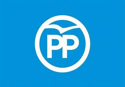 Partido Popular Pp Bandera Banderas Timetoast Bigarren
