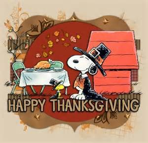 happy thanksgiving snoopy 4 lil j