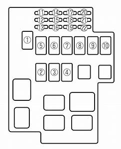 Mazda Millenia  2000  - Fuse Box Diagram