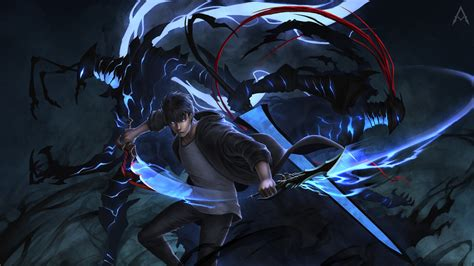 cool solo leveling wallpaper hd anime  wallpapers