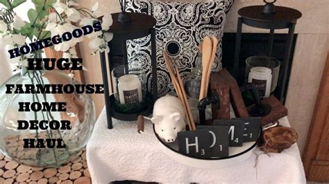 Homegoods Decor: HUGE HOMEGOODS FARMHOUSE HOME DECOR 2017