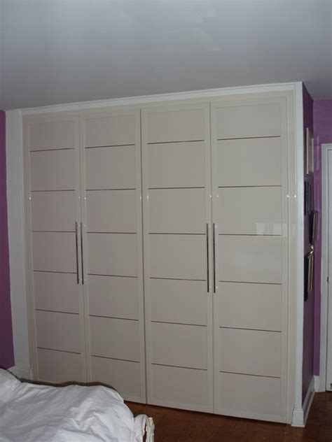 closet doors modern closet new york by porta